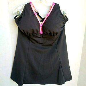 It Figures black swimsuit NWOT